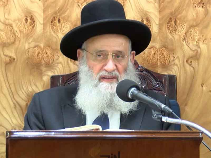 סיפר לו יהודי קשיש בן 95, שהיה בנו של אחד