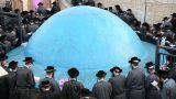 רב אהרלך סביב קבר רבי שמעון בר יוחאי רשבי (Small)