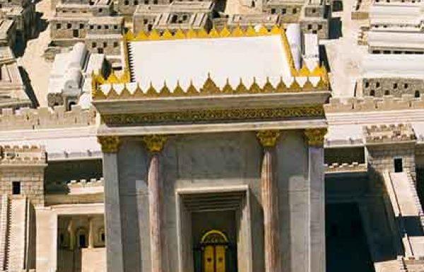 הזקנים הביטו בתבנית המקדש, השילו נעליהם מעל רגליהם ופתחו בקינת 'איכה'…