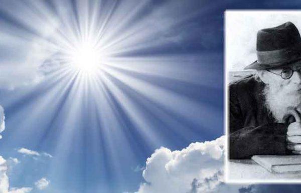 """רבי דוד התכונן לשינה במעונו של מרן ה'חזון איש'. לפתע קם מרן ה'חזון איש' וקרא לרבי דוד: """"דוד! התרצה לראות רוח הקודש?"""" בתחילה נדהמתי, הרי זה לא הנוסח שמרן ה'חזון איש' רגיל בו, אך כמובן שנעניתי בחיוב, והורה לי מרן ה'חזון איש' לבוא אחריו לבית מדרשו שהיה בביתו. """"ופתאום אני רואה אור בוהק, כמו ברק, אור שלא ראיתי מימי…"""