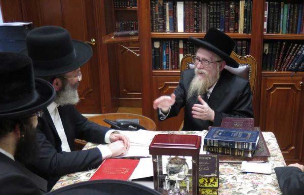 """'""""דרשו' הוכיח שישראל נתבעים ונותנים עוד ועוד שעות ללימוד התורה"""""""