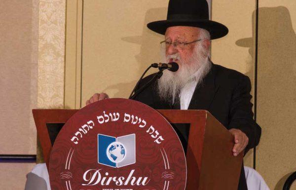 """בראשות גדולי ישראל: אלפים התכנסו במוצאי שבת למעמד המרכזי של הוועידה העולמית של 'דרשו' בקונטיקט, ארה""""ב"""