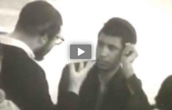 מדהים! תיעוד מרגש של מרן הרב שך בצעירותו בישיבת פונוביז'