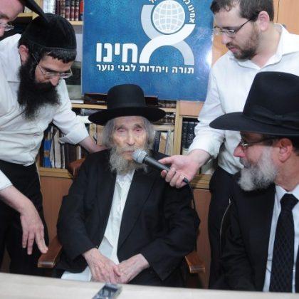 המתחזקים של 'אחינו' בביקור אצל גדולי ישראל