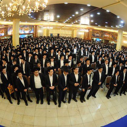 כאלפיים בני ישיבות העולים לישיבות גדולות השתתפו בכינוס ההדרכה של 'דרשו' בראשות מרנן ורבנן ראשי הישיבות וגדולי המשגיחים