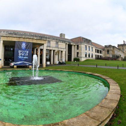 גלריה מרהיבה: הקונוונשן העולמית של 'דרשו' באחוזה היסטורית באוקספורד שבאנגליה